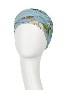 SHAKTI turban, Oriental Flowers1