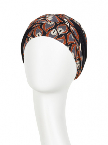 Shakti turban - Peacock Feathers, vascoza din bambus, Toamna/Iarna1