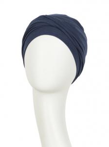 ZOYA • V turban - Black Iris, bumbac/vascoza, primavara/vara1