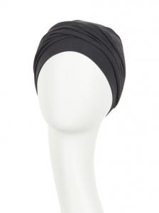 ZOYA • V turban - Dusty Black, Bumbac/Vascoza, Primavara/Vara1