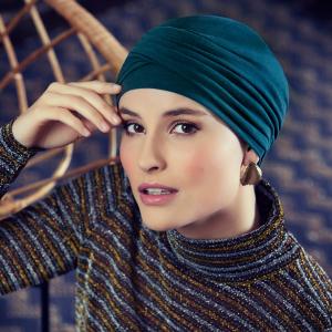 ZOYA • V turban, Legion Blue1