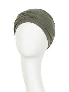 ZOYA • V turban - Olive Green, bumbac/vascoza, primavara/vara1
