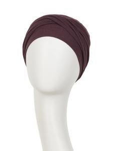 ZOYA • V turban - Raisin, Bumbac/Vascoza, Primavara/Vara1