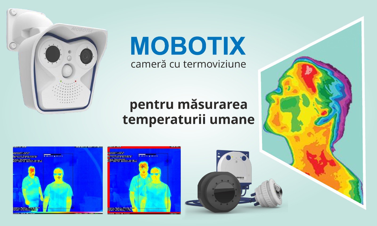 camera mobotix citire temperatura
