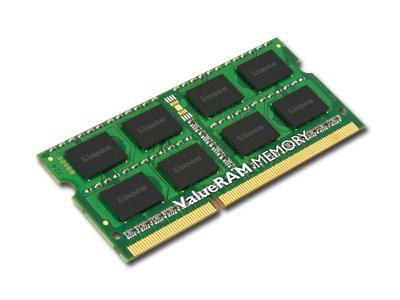 KINGSTON ValueRAM DDR3 SODIMM SDRAM Non-ECC (4GB,1600MHz(PC3-12800),Single Rank,Unbuffered) CL11, EAN: 740617207781 2