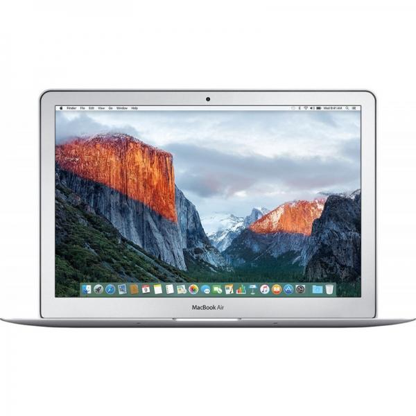 Laptop Apple 13.3'' MacBook Air 13, Broadwell i5 1.8GHz, 8GB, 128GB SSD, GMA HD 6000, Mac OS Sierra, INT keyboard, Silver 0
