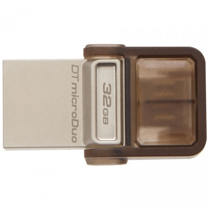 "USB3.0  32GB KINGSTON DATA TRAVELER MicroDuo OTG ""DTDUO3/32GB"" ( include timbru verde 0.01 Lei ) 0"
