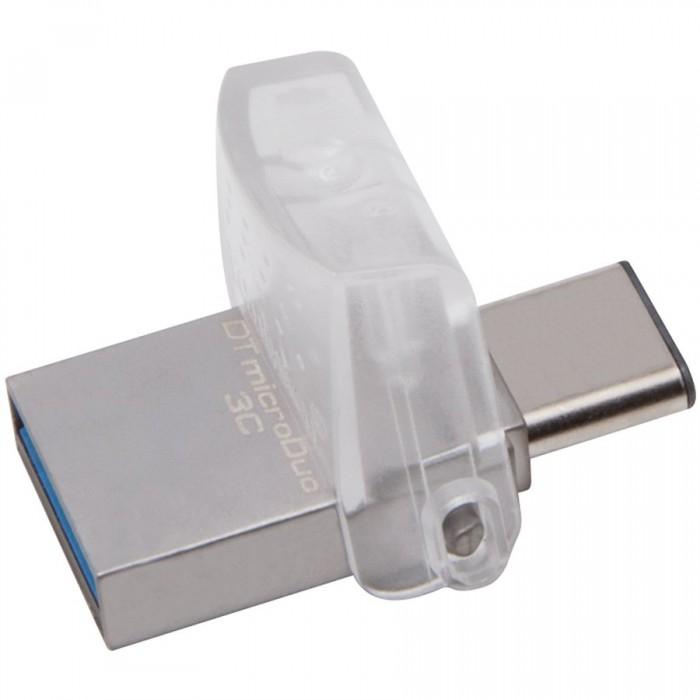 "USB3.0  32GB KINGSTON DATA TRAVELER microDuo 3C OTG, USB Type-A + Type-C ""DTDUO3C/32GB"" 0"