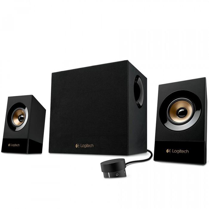 LOGITECH Audio System 2.1 Z533 - EU - BLACK 0