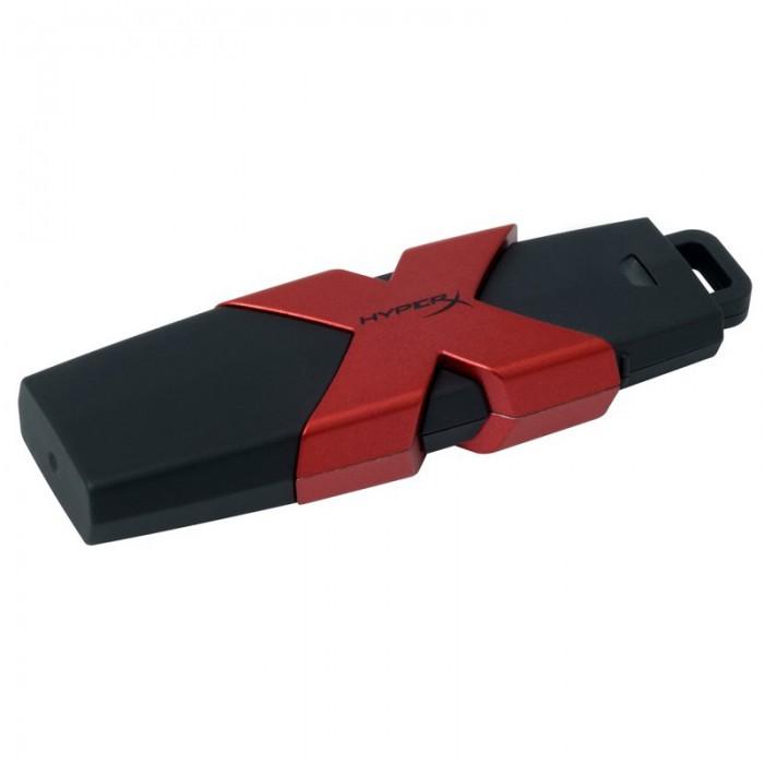 """USB Flash Drive Kingston 64GB HyperX Savage, USB 3.1, viteza de transfer r/w: 350/250 MBs """"HXS3/64GB"""" 0"""