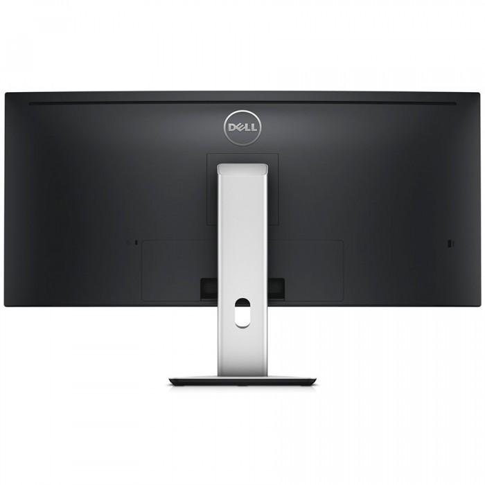 """Monitor LED DELL UltraSharp U3415W 34"""" Curved, 3440x1440, 21:9, AH-IPS, 1000:1, 178/172, 6ms, 300cd/m2, VESA, DisplayPort, Mini DisplayPort, HDMI, USB HUB, Height Adjustable, Pivot, Speakers, Black """"U 1"""