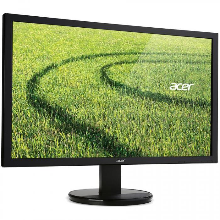 "Monitor LED ACER 50cm Wide 19.5"" K202HQLAB 5MS 100M:1 ACM 200NITS HD LED EURO/UK EMEA MPRII BLACK ACER ECODISPLAY 2"