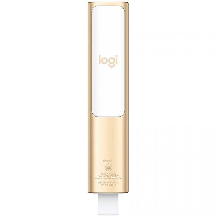 """LOGITECH BT/WL Presenter SPOTLIGHT - EMEA - GOLD """"910-004862"""" 1"""