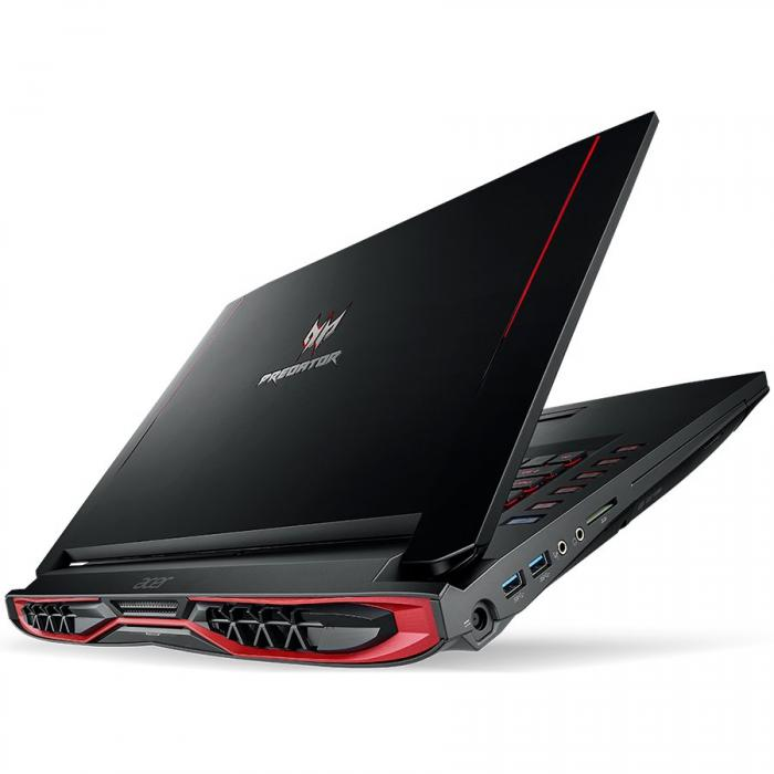 "ACER, Predator G9-793-7394, 17.3"", FHD IPS Non-Glare, Intel Core i7-7700HQ, DDR4 16GB (2x8), SSD 256GB, DVD/RW, NVIDIA GeForce GTX 1070 8GB, HDMI, WiFi, BT 4.1, Gbit LAN, HD cam, 8 cell batt., SD card 0"