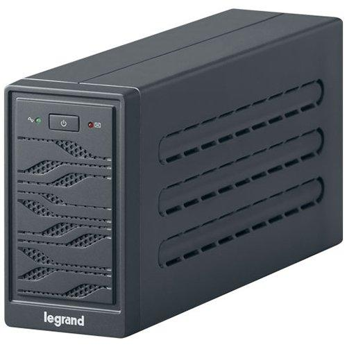 UPS Legrand Niky Tower 600VA/300W Line interactive, Single-phase, Protection RJ 11/RJ 45, Un buton,  2 leduri, Pseudo-sinusoidal, Battery 1 x 12 V, 7 Ah, 7 Kg, management USB, IN 1x C13, OUT 1xC13 & 1 0