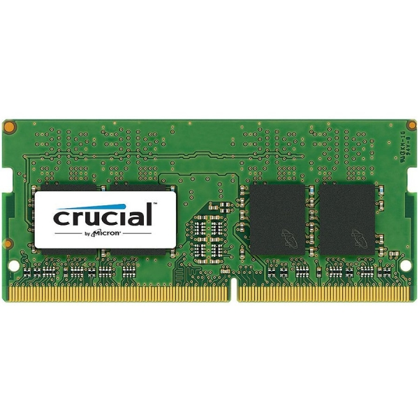 """DDR4, 16GB, 2666 MHz, 260-pin SO DIMM, CL 19, Nominal voltage 1.2 V, Number of modules 1, Chip Organization 2048Mx64 """"CT16G4SFD8266"""" 0"""