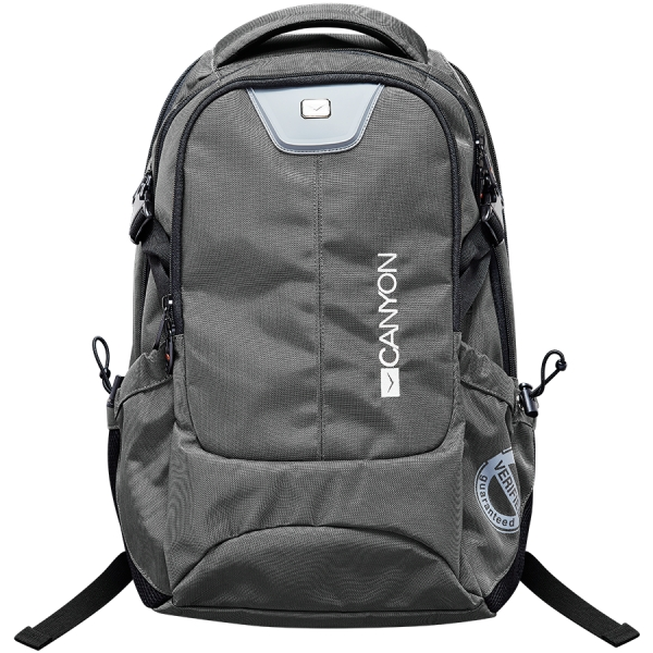 CANYON Backpack for 15.6\'\' laptop, dark gray (Material: 840D Nylon) 0