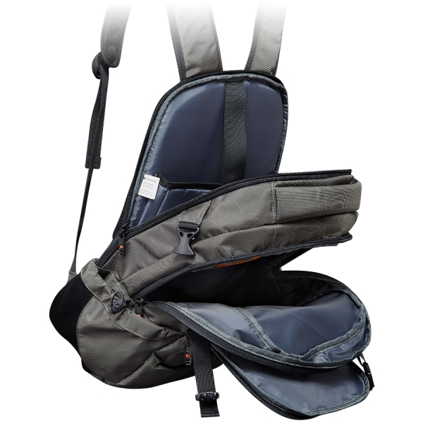 CANYON Backpack for 15.6\'\' laptop, dark gray (Material: 840D Nylon) 1