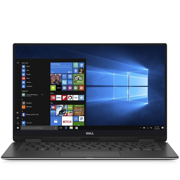Dell XPS 13(9365) 2-in-1,13.3-inch Touch QHD+(3200x1800) InfinityEdge, Intel Core i7-8500Y, 16GB DDR3 1866MHz, 512GB(M.2) SSD, Intel HD Graphics, 802.11ac 2x2 WiFi for Vpro, BT 4.1 , FGPR, Backlit Kb, 0
