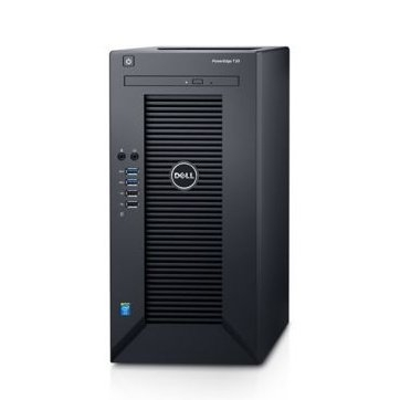 PowerEdge T30 Server, Intel Xeon E3-1225 3.3Gz, 1x8GB DDR4 UDIMM, 2133 MT/s, ECC , 1TB 7.2K Entry SATA 3.5in Cabled Hard Drive, Onboard SATA, HDD connected to onboard SATA Controller - No RAID DVD+/-R 0