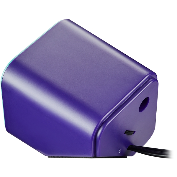 Canyon wired stereo Speaker, 1.2m cable with USB2.0 & 3.5mm audio connector, purple(blue stripe) 2