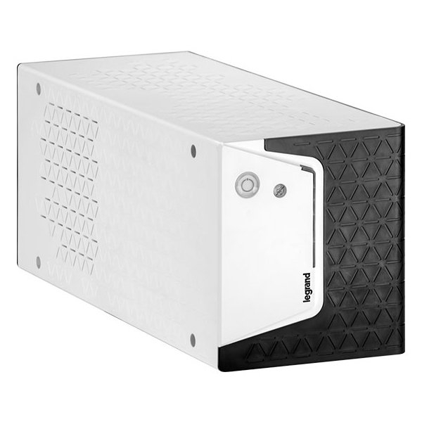 UPS Legrand KEOR SP Tower 600VA/360W Line interactive, AVR, Simulated sinewave, Single-phase, 2 buttons, LED bar, management USB, OUT 4xIEC, backup time up to 15 min, 5kg, battery 1pc 12V 7Ah 1