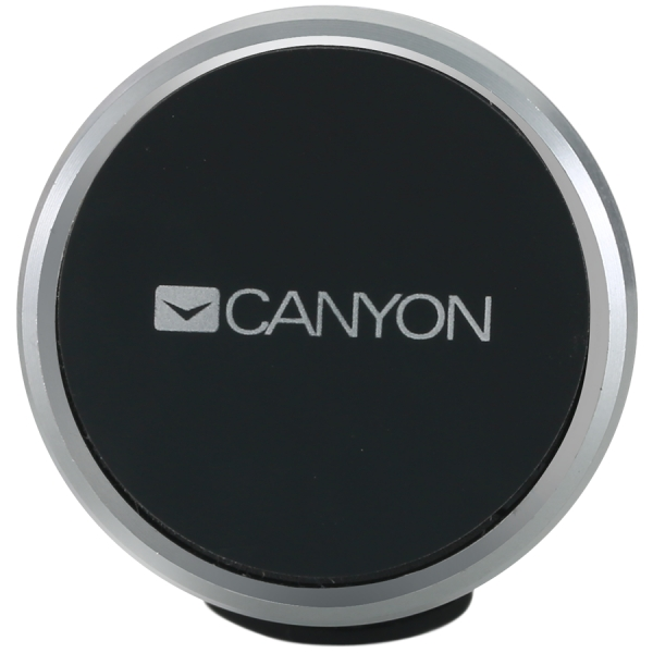 Canyon Car Holder for Smartphones,magnetic suction function ,with 2 plates(rectangle/circle), black ,40*35*50mm 0.033kg 2