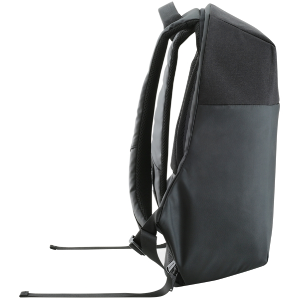 "Backpack for 15.6"" laptop, material 900D glued polyester and 600D polyester, black, USB cable length0.6M, 400x210x480mm, 1kg,capacity 20L 2"