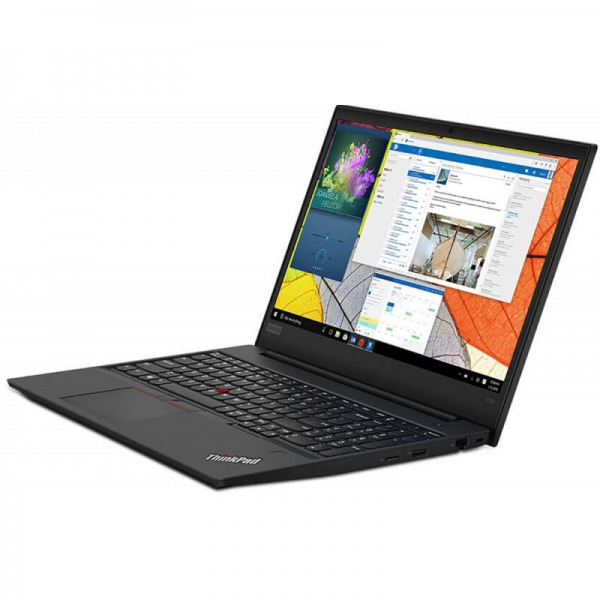 Notebook / Laptop business Lenovo 15.6'' ThinkPad E590, FHD IPS, Procesor Intel® Core™ i7-8565U (8M Cache, up to 4.60 GHz), 8GB DDR4, 256GB SSD, GMA UHD 620, Win 10 Pro, Black 1