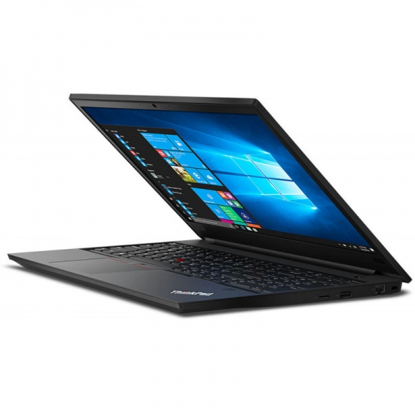 Notebook / Laptop business Lenovo 15.6'' ThinkPad E590, FHD IPS, Procesor Intel® Core™ i7-8565U (8M Cache, up to 4.60 GHz), 8GB DDR4, 256GB SSD, GMA UHD 620, Win 10 Pro, Black 3