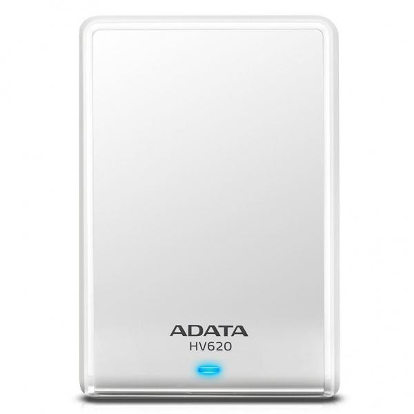 "Hard Disk Drive ADATA HDD extern , 2TB, HV620S, 2.5"", USB 3.1, Alb, Slim ""AHV620S-2TU31-CWH"" 0"