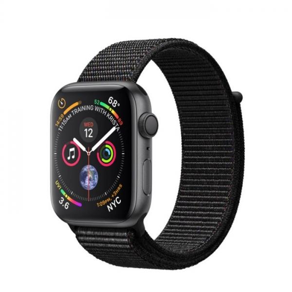 Apple Watch Series 4  - 44mm, Aluminum Case Sport Loop, Space grey 0