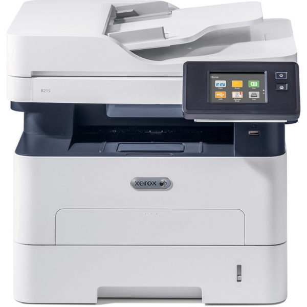 Multifunctionala Xerox WorkCentre B215V_DNI, Laser, Monocrom, Format A4, Duplex, Retea, Wi-Fi, Fax 1
