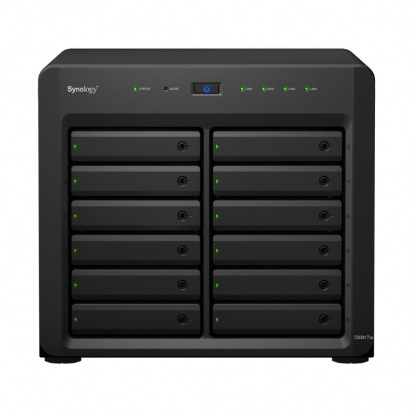 Statie de BACK-UP date Network Attached Storage (NAS) Diskstation DS3617xs - Synology 0