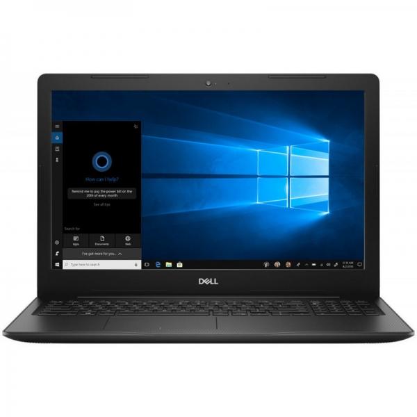 Notebook / Laptop DELL 15.6'' Inspiron 3584 (seria 3000), FHD, Procesor Intel® Core™ i3-7020U (3M Cache, 2.30 GHz), 4GB DDR4, 128GB SSD, GMA HD 620, Win 10 Pro, Black, 2Yr CIS 0