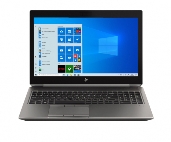 "Laptop HP ZBook 15 G6 procesor Intel® Core™ i9-9880H up to 4.80 GHz Coffee Lake, 15.6"", 4K UHD, 32GB, 1TB SSD, NVIDIA Quadro RTX 3000 6GB, Windows 10 Pro, Black 1"