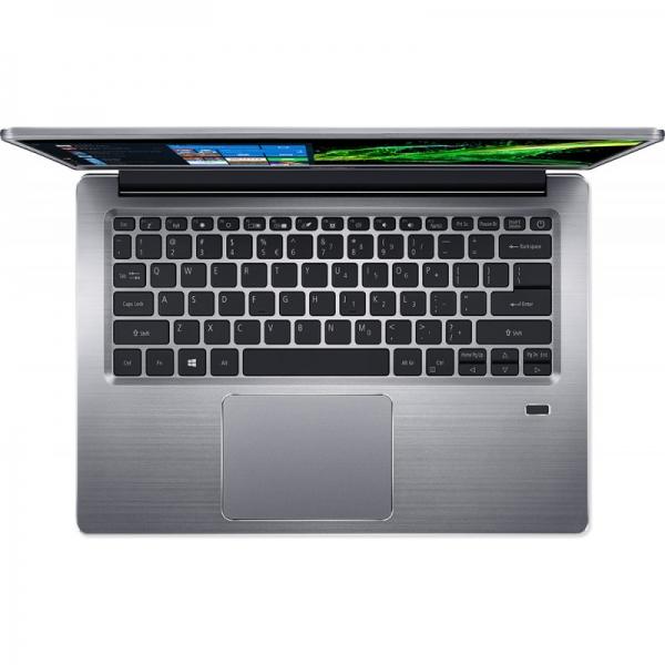 Notebook / Laptop Acer 14'' Swift 3 SF314-41, FHD IPS, Procesor AMD Ryzen™ 3 3200U (4M Cache, up to 3.50 GHz), 8GB DDR4, 256GB SSD, Radeon Vega 3, Linux, Silver 1