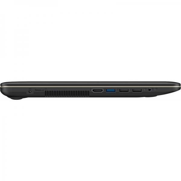 Notebook / Laptop ASUS 15.6'' VivoBook 15 X540UA, FHD, Procesor Intel® Core™ i3-7020U (3M Cache, 2.30 GHz), 4GB DDR4, 256GB SSD, GMA HD 620, Win 10 Home, Chocolate Black 5