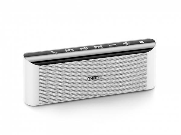 "BOXE EDIFIER portabile bluetooth, RMS: 9W (2 x 4.5W), Bluetooth 4.0, NFC, AUX, microSD, radiator pasiv bass, built-in Li-ion pana la 15h, white, ""MP233w""(include timbru verde 0.5 leu) 0"