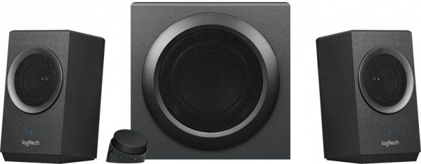 "BOXE Logitech 2.1 ""Z337"" Bold Sound Bluetooth RMS power: 40 W (24W + 2 x 8W), Black ""980-001261""    (include timbru verde 1 leu) 0"