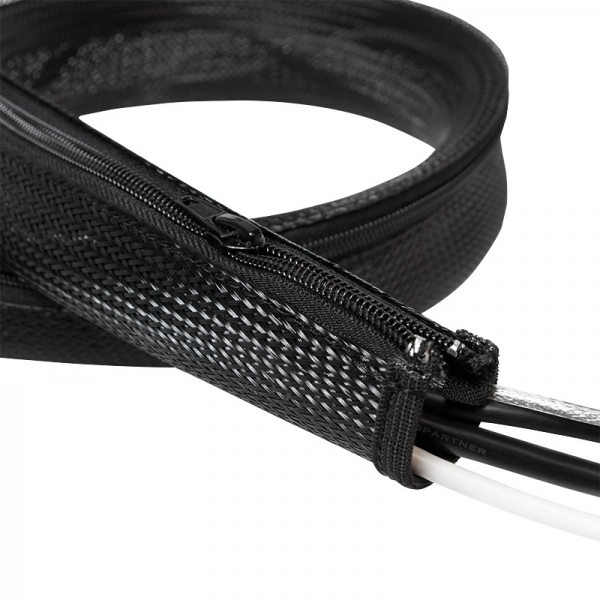 "Cable FlexWrap with Zipper, 1,0m,50mm, black ""KAB0048"" 1"