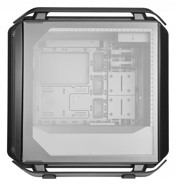 "CARCASA COOLER MASTER. Full-Tower E-ATX, Cosmos  C700P, tempered glass, 3* 140mm fan (inclus), I/O panel, RGB controller & RGB LED strips, black ""MCC-C700P-KG5N-S00"" 3"