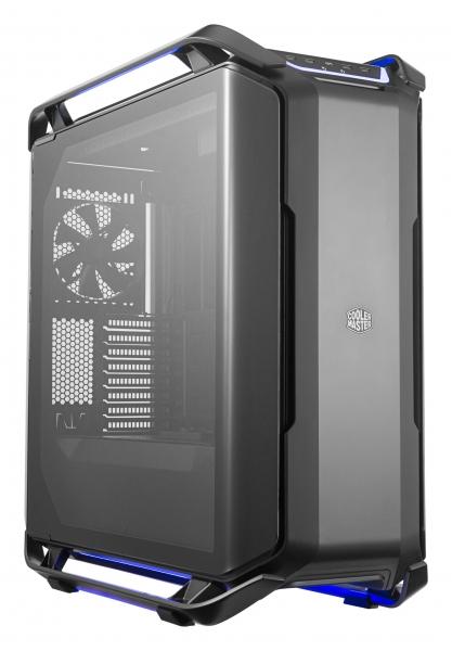 "CARCASA COOLER MASTER. Full-Tower E-ATX, Cosmos  C700P, tempered glass, 3* 140mm fan (inclus), I/O panel, RGB controller & RGB LED strips, black ""MCC-C700P-KG5N-S00"" 0"