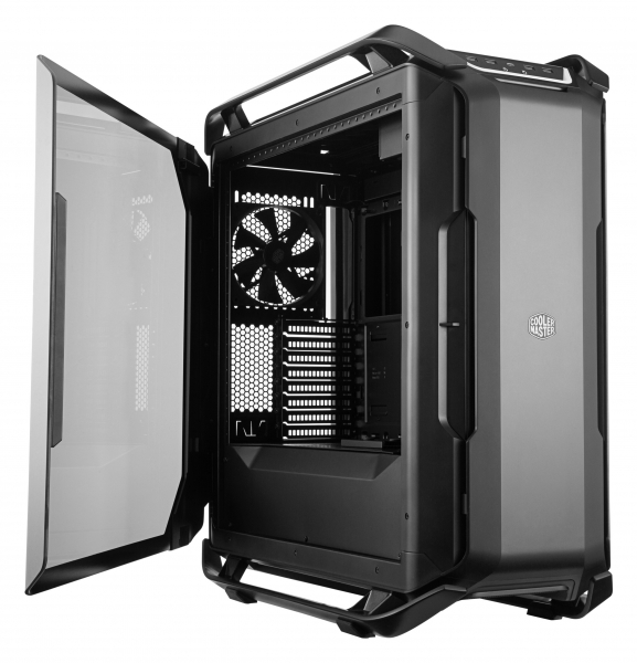 "CARCASA COOLER MASTER. Full-Tower E-ATX, Cosmos  C700P, tempered glass, 3* 140mm fan (inclus), I/O panel, RGB controller & RGB LED strips, black ""MCC-C700P-KG5N-S00"" 1"