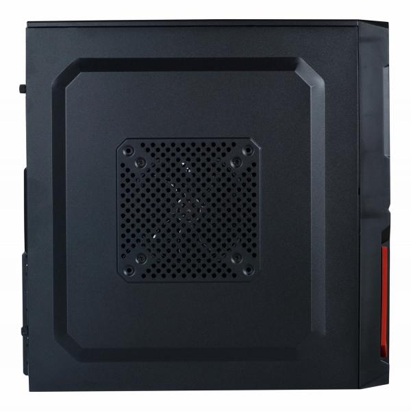 "CARCASA SPACER  Mini-Tower ATX, fara sursa, Pr1m3, 1*80mm & 1* 120mm fan instalate, I/O panel, Black&Red ""SP-GC-03"" 3"
