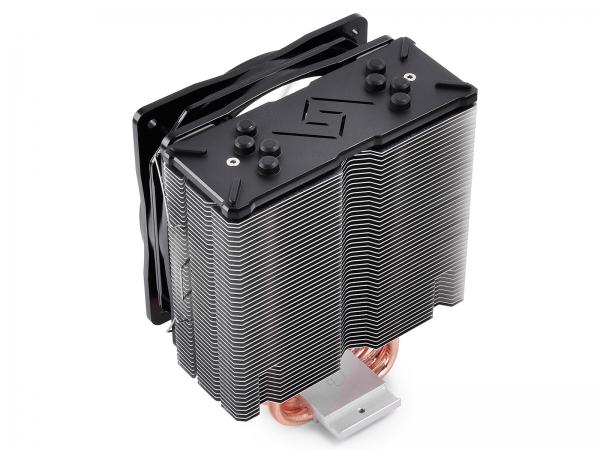 """COOLER DeepCool CPU universal, soc LGA20xx/1366/115x & AMx/FMx, Al+Cu, 4x heatpipe, 150W, RGB LED """"GAMMAXX GTE"""" 4"""