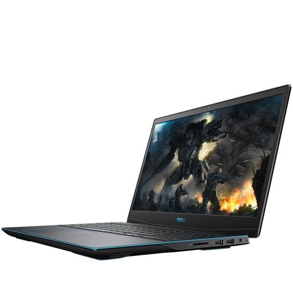 "Dell Dell G3 15 (3590),15.6"" FHD (1920 x 1080) AG, Intel Core i7-9750H (12MB Cache up to 4.5 GHz),16GB(2x8GB)DDR4 2666Mhz, 256GB(M.2)NVMe SSD + 1TB (5400rpm),NVIDIA GeForce GTX 1650/4GB,WiFi 802.11ac, 1"