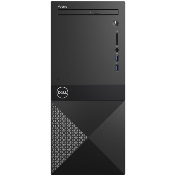 Dell Vostro MT 3671,Intel Core i5-9400(9MB Cache, up to 4.1 GHz),8GB(1x8GB)2666MHz UDIMM DDR4,1TB 7200RPM SATA,DVD+/-,Integrated Graphics,Wifi 1707 Card (802.11BGN + Bluetooth 4.0, 2.4 GHz)Dell Mouse  0