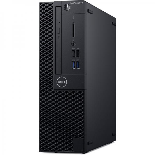 Desktop Dell OptiPlex 3070 SFF Intel Core Coffee Lake (9th Gen) i5-9500 256GB SSD 8GB Win10 Pro Tastatura + Mouse Black 1