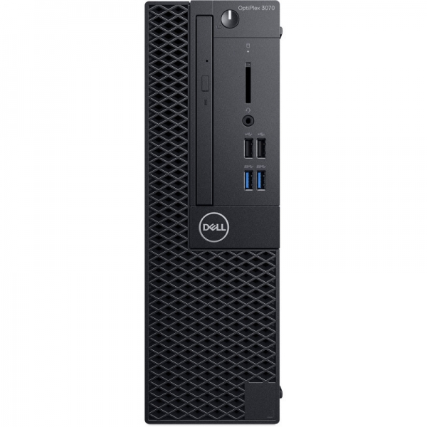 Desktop Dell OptiPlex 3070 SFF Intel Core Coffee Lake (9th Gen) i5-9500 256GB SSD 8GB Win10 Pro Tastatura + Mouse Black 0